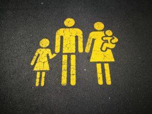 家族の標識