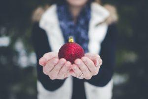 赤い玉のプレゼント