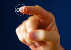 offのスイッチ